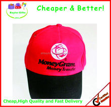 Factory Prices Logo printing Advertising Hat 100% Cotton Golf Cap