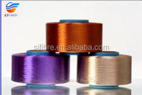 Dope dyed Polyester filament yarn for Knitting and fabric