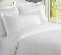 Low price cheap modern plain india cotton Duvet Cover With Zipper