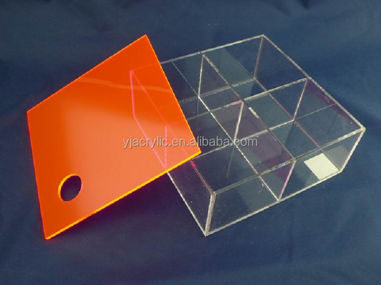 Customized acrylic dried fruit display stand