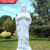 Natural White Marble Sacred Heart of Jesus Statue