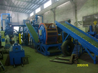 waste tyre recycling machine/rubber recycling machinery/rubber powder production line