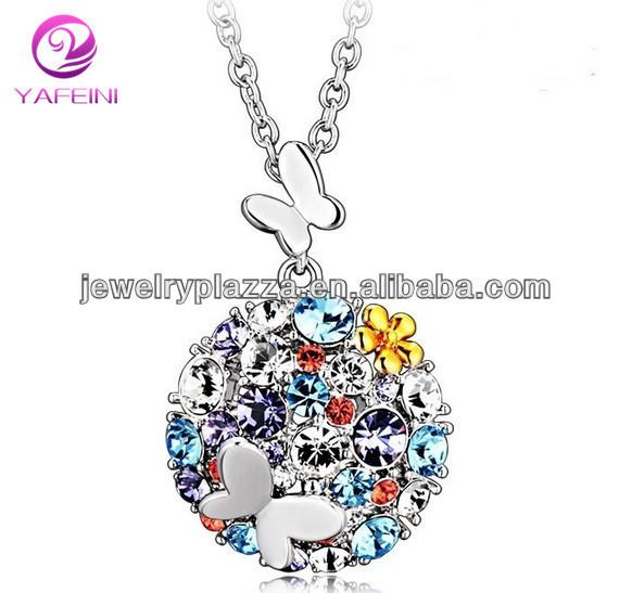 2014 Crystal Necklace Female Korean Fashion Jewelry