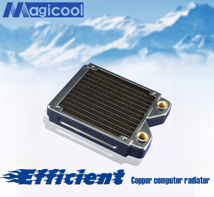 Best Quality Copper Radiator for computer 27mm thickness 120mm length
