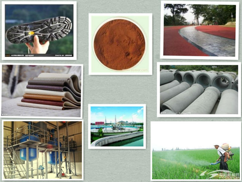 high quality of Sodium Lignosulfonate used in concrete