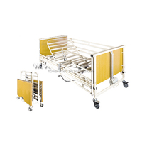 FBD-V medical equipment 5-functions electric hospital nursing bed for patient