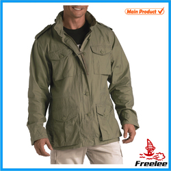 Mens vintage lightweight military m65 jacket