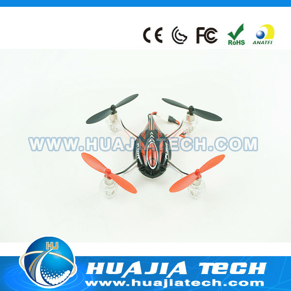 New Arrival 2.4G 4CH Mini RC Quadcopter With Six-axis Gyro and Lights HJ114005 flying saucer launcher toy