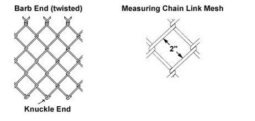 2016 hot sale Galvanized heavy chain link fence (13 years factory)