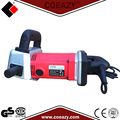 Dust free portable concrete wall groove machine