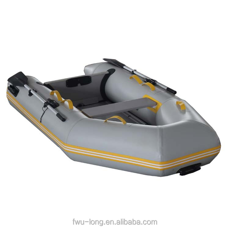 China best quality pvc welding machine inflatable boat/electric boat with outboard motor