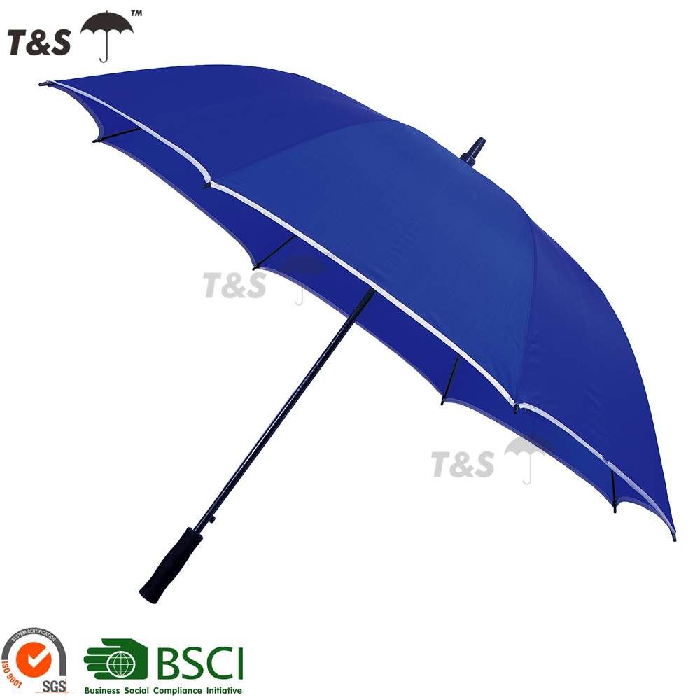 "Tianshuo 30""*8K fiberglass ribs and shaft high quality unique large rain umbrella"