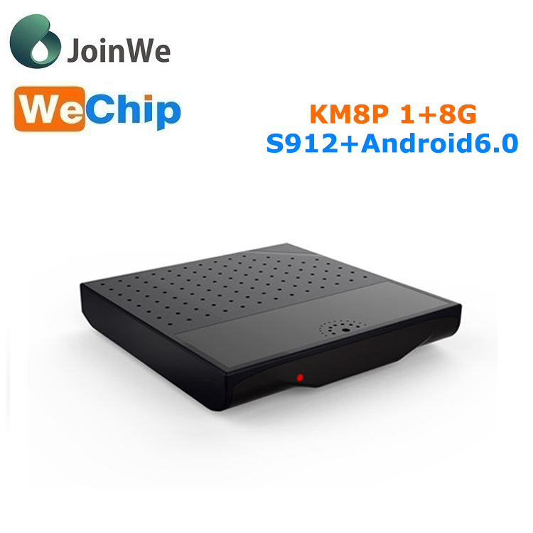 Cheapest Android Tv Box KM8p 100m cable network android 6.0 OS tv box codi 2.4g dual wifi smart tv box