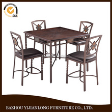 Wholesale hot selling new design high quality wood chair and bar table