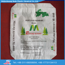50kg pp woven bag of cement ad star type