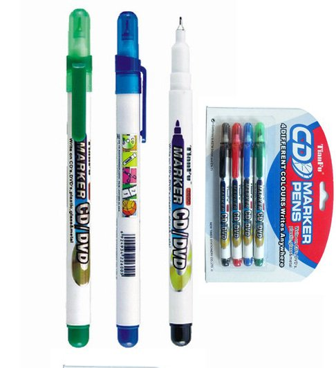 plastic permanent pen