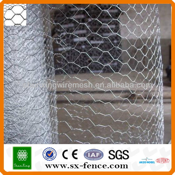 Electro galvanized hexagonal wire mesh\hexagonal wire netting(ISO9001:2008 professional manufacturer)