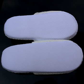 cheap wholesale hotel disposable terry cloth slipper
