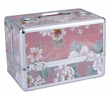 Colorful acrylic cosmetic case, beauty case, makeup case very useful