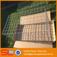 High Quality Gabion Wire Cages Rock Retaining Wall