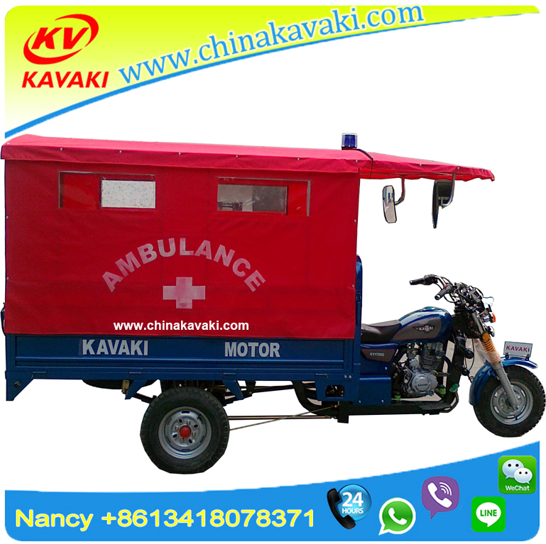 china Ambulance Tricycle Cheap Simple Medical Three Wheels Special Use Motorcycle and Ambulance