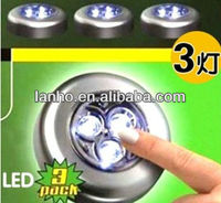 Buy 8 LED Battery-Operated stick touch lamp in silver in China on ...