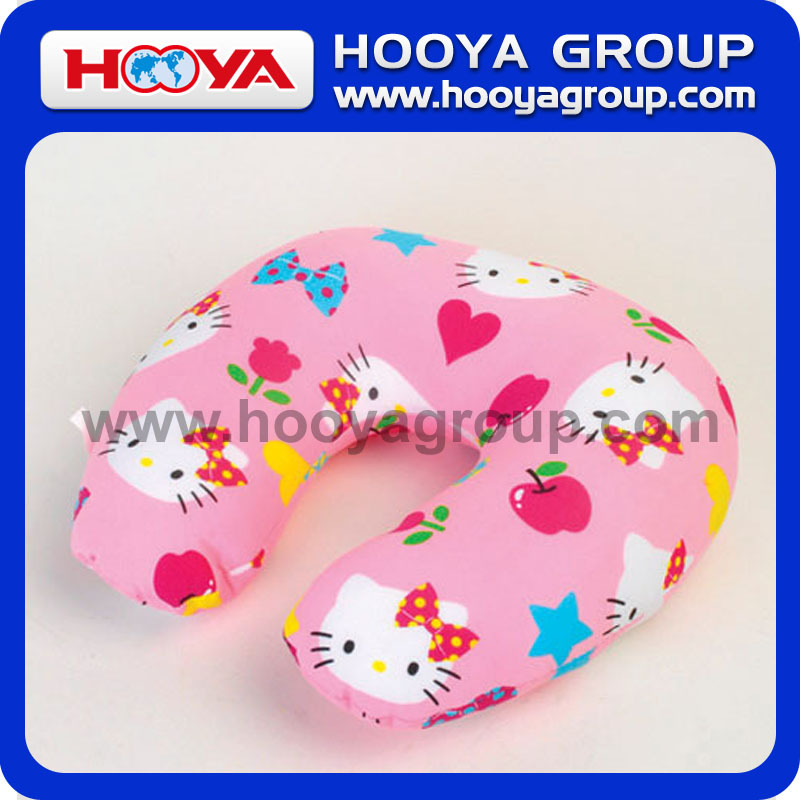 Animal Printed U- Shaped Pillow