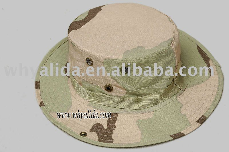 US Military Army Tri-colored military boonie hat