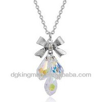 Flashing Christmas Light Necklace For Ladies