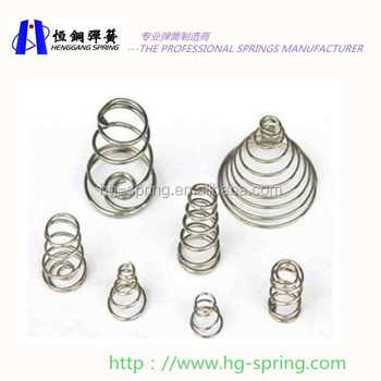 Stainless steel conical spring tower spring