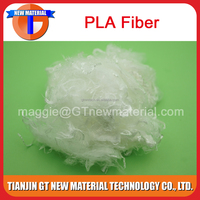 0.9D~20D pla fiber for nonwove and yarn, spinning grade pla fiber