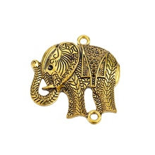 Amazing gold elephant pendant big necklace jewelry pendant
