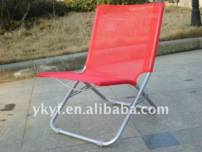 Outdoor folding beach sun lounger chairs / Portable chaise lounge chair