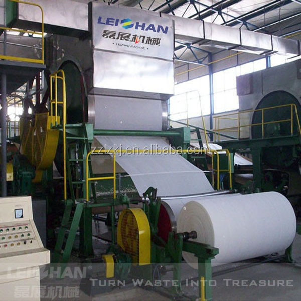 Paper mill toilet tissue paper manufacturing equipment
