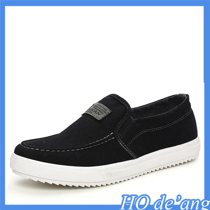 factory outlets new casual men's shoes peas lazy shoes canvas shoes MHo-37