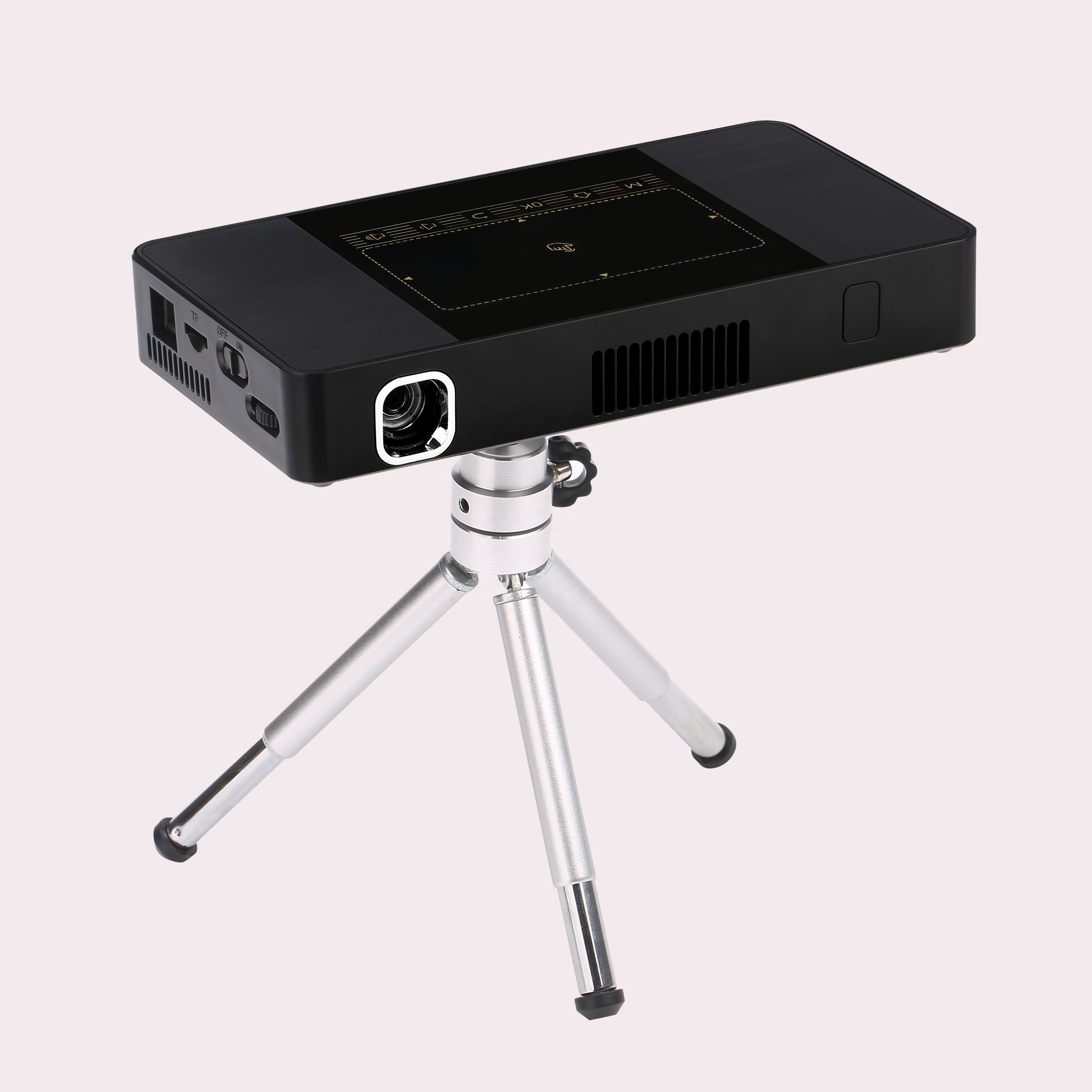 LSP home theater Portable DLP <strong>LED</strong> Mini Pocket projector With 4k docoding and ir&amp;touch Control Projector <strong>C10</strong>