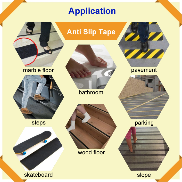 Non-Skid Anti Slip Tape Stair Nosing