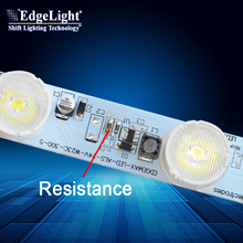 Edgelight Smd 3535 Sequential Aluminum Led Strip 15 Watt Per Meter