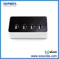used car battery charger sale with 5 ports ensures your device is rapidly charged at the highest speeds