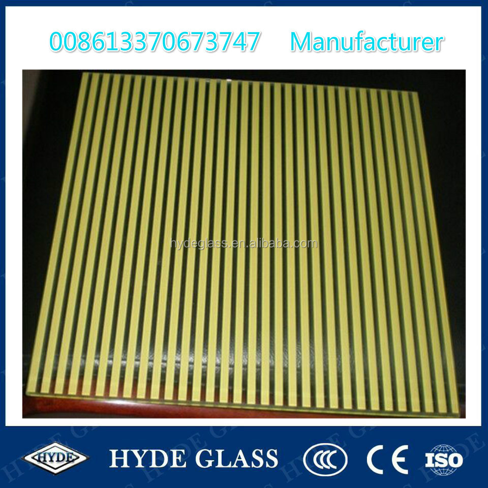 6mm tempered ceramic glass ceramic frit building decorative glass