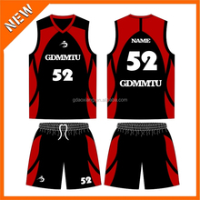 2014 trendy custom team basketball singlet