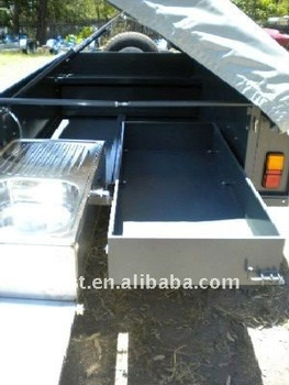 heavy duty off road powder coated tent trailer