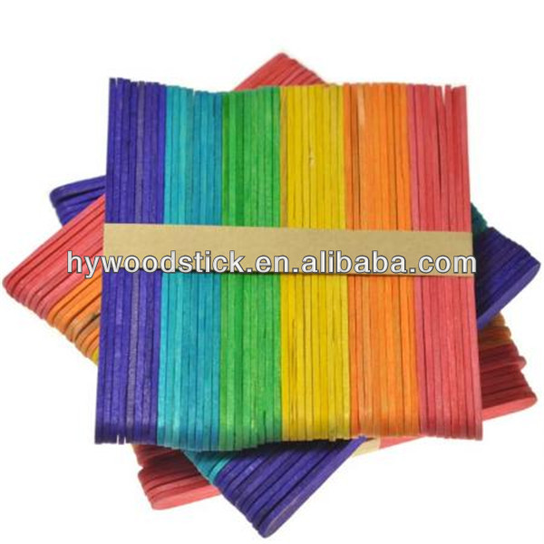 New Creatitive Colored Craft DIY House Ice Cream Popsicle Sticks