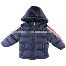 Children's padded winter jacket with hood/children's clothing