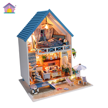 Supply to lifestyle concept shop wooden handmade dollhouse miniature furniture diy kit