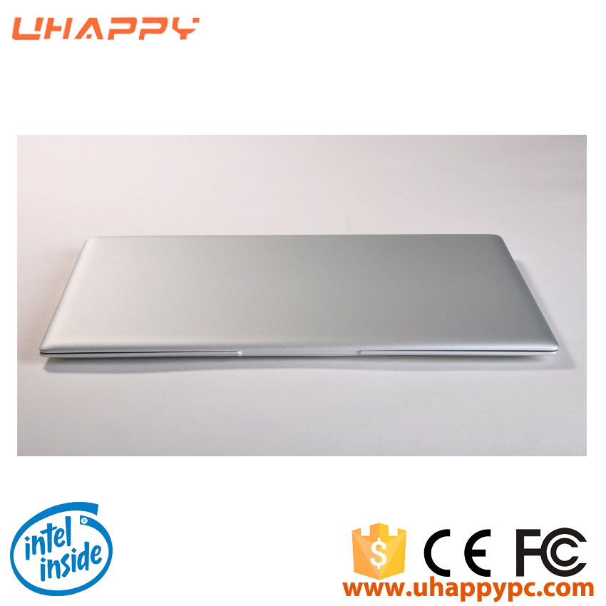 siliver metal casing laptop computer air laptop quad core computer