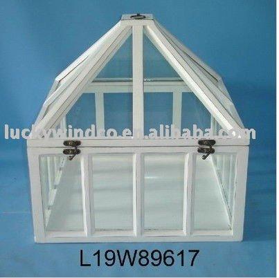sch biges schickes h lzernes gartenhaus gew chshaus im garten produkt id 447794924 german. Black Bedroom Furniture Sets. Home Design Ideas
