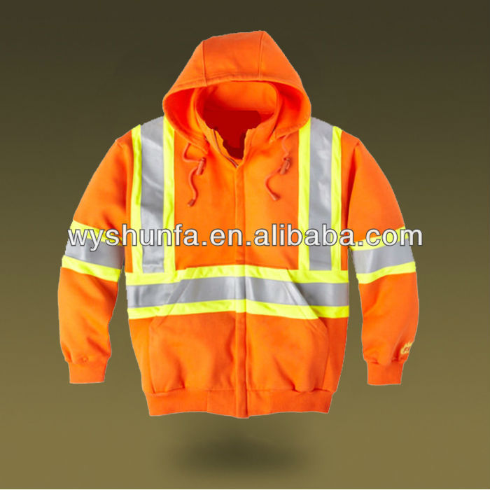 Safety Polar Fleece Hoodies
