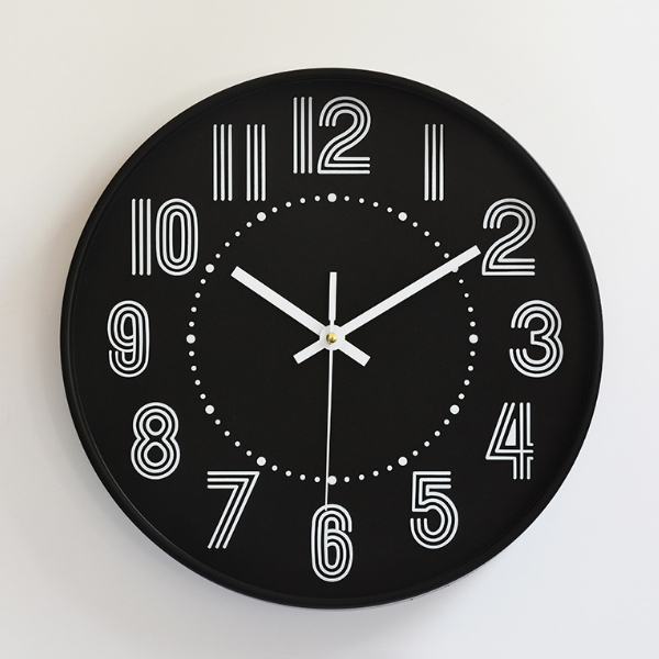 10 Inch Plastic Home Decoration Wall Clock