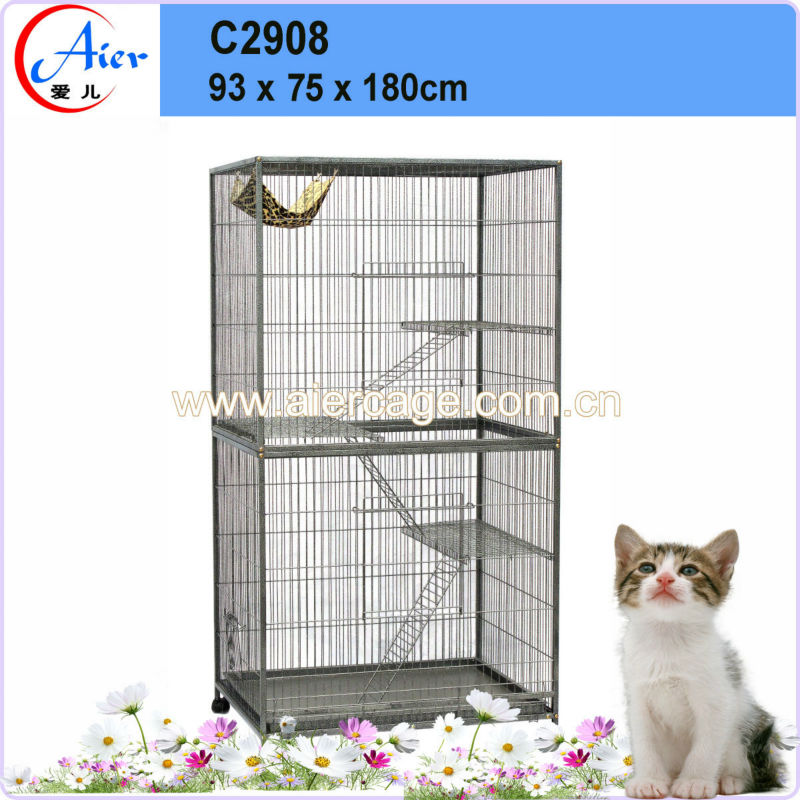 China manufactured strong breeding cage cat cheap cat cages